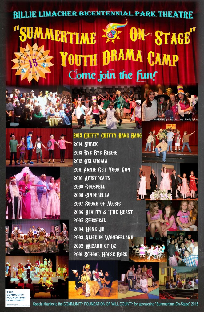 2015 Summertime On-Stage Youth Drama Camp montage - Celebrating 15 Years!