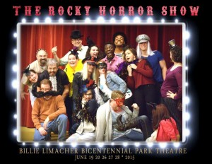 2015 ROCKY HORROR SHOW cast - Billie Limacher Bicentennial Park & Theatre - June 19, 20, 26, 27, 28