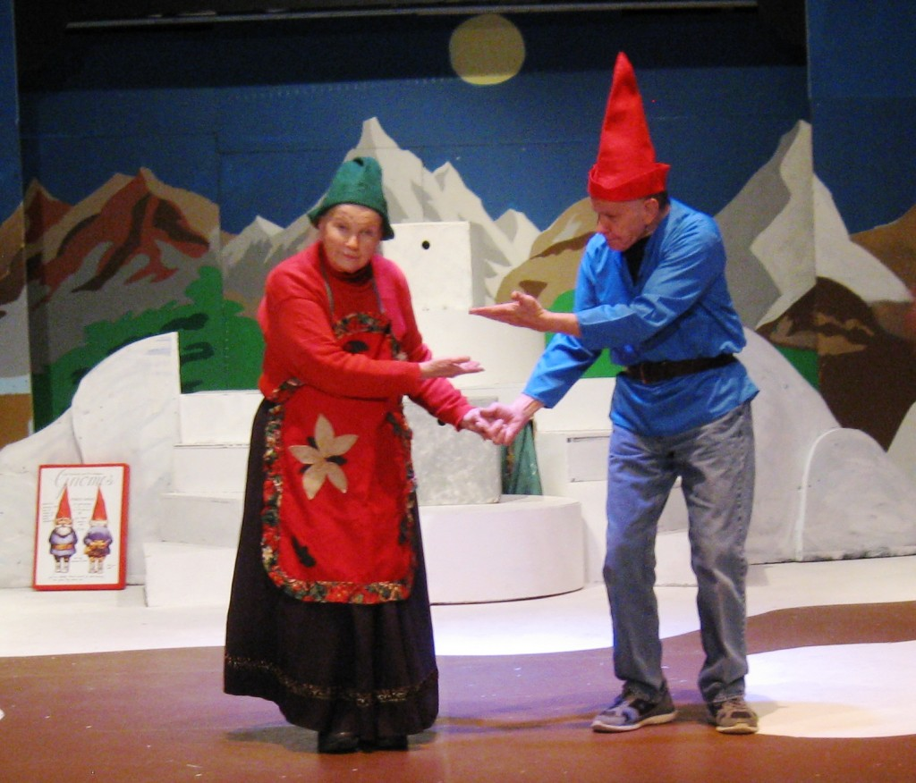 Gnome Jan & Tom Novotny - the shows patriarchs