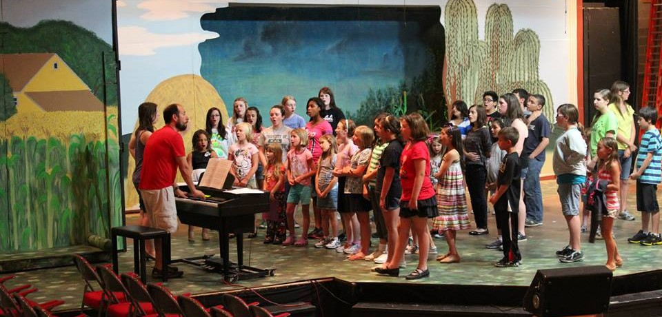"""""""SUMMERTIME ON-STAGE"""" Youth Drama Camp runs June 20-July 17, 2016"""