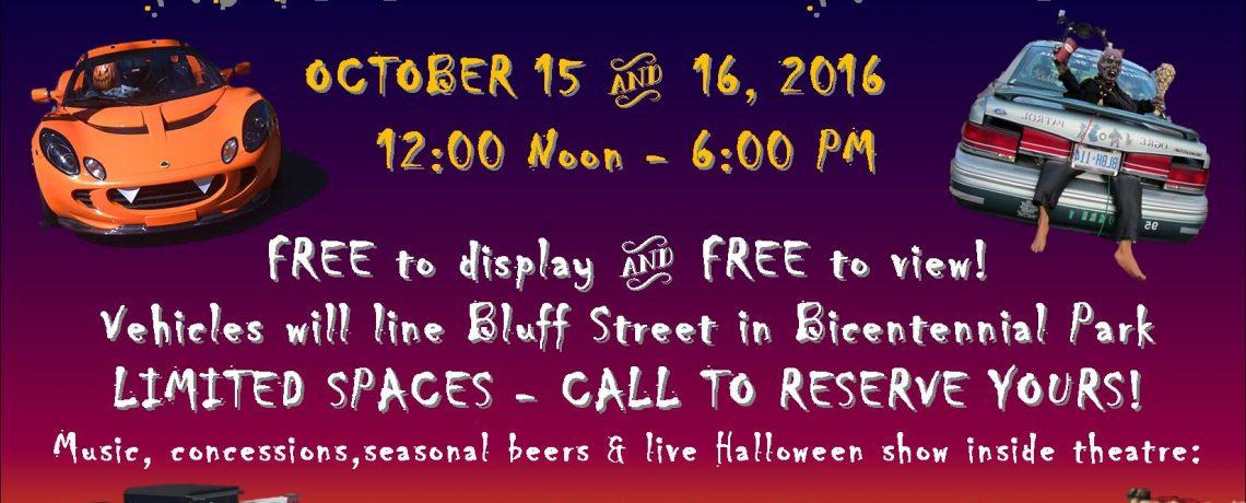 HALL-ON-WHEELS October 15 & 16, 2016
