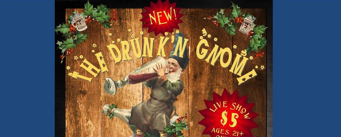New! The Drunk'n Gnome rolls in December 3, 2016