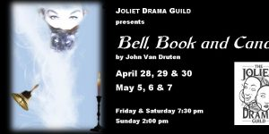 "JDG's ""BELL, BOOK & CANDLE"" appears April 28-30 & May 5-7, 2017"