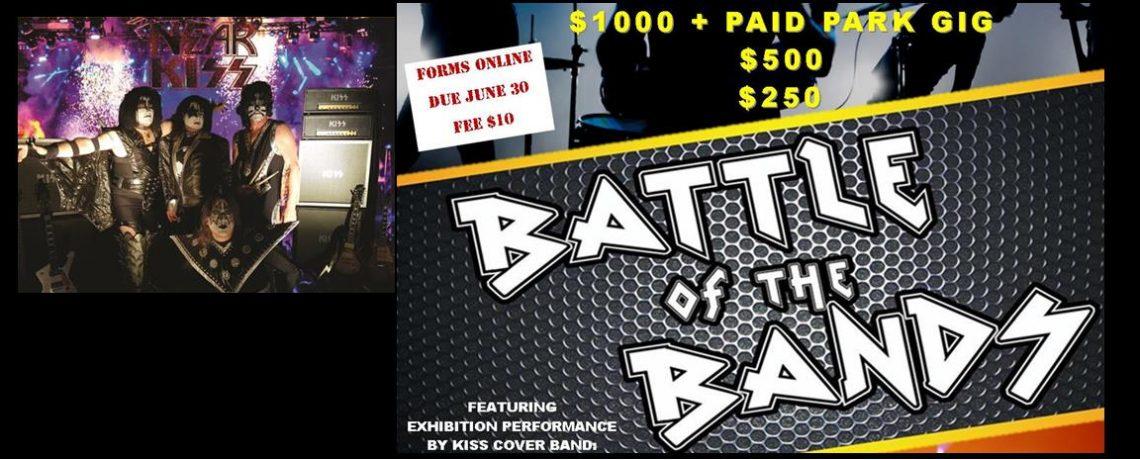 Battle of the Bands & NEAR KISS July 22, 2017